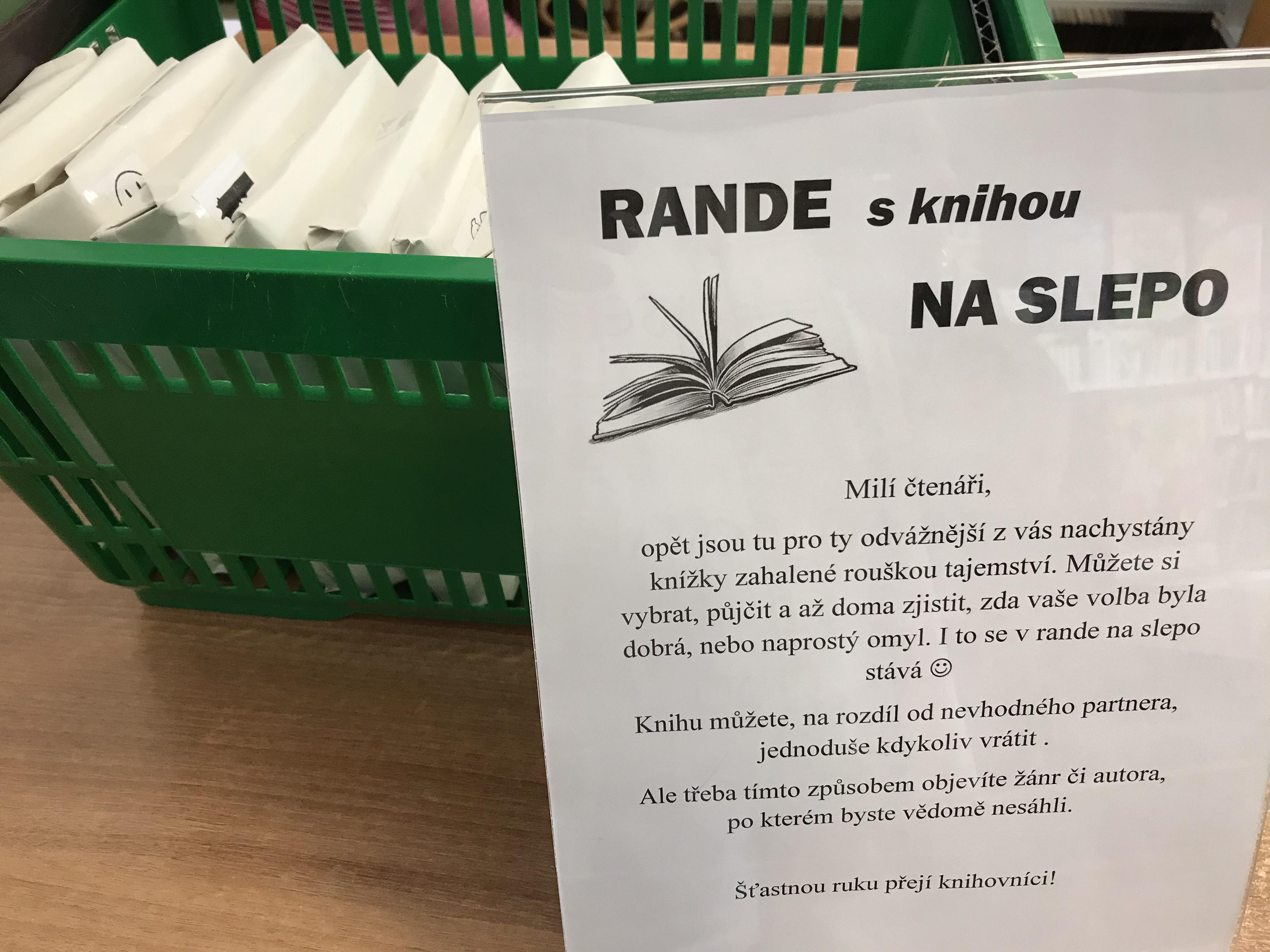 Rande na slepo a kvz o ceny - Kultura Boskovice