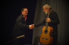 Foto z koncertu Štěpána Raka a Miloše Pernici